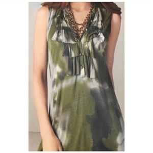Cabi Haute Camo Tunic Top